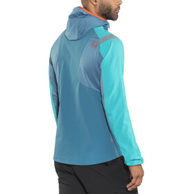 La Sportiva Foehn Jacket Men Lake/Tropic Blue
